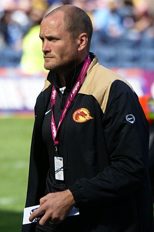 Steven Bell - Bell playing for the Catalans Dragons
