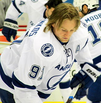 Steven Stamkos - Stamkos with the Tampa Bay Lightning in February 2012.