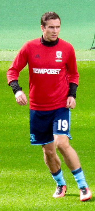 Stewart Downing - Downing training with Middlesbrough in 2016