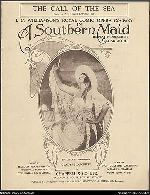 Harold Fraser-Simson - Sheet music from the Australian production