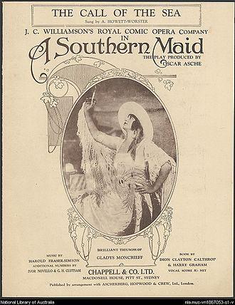 Harold Fraser-Simson - Sheet music from the Australian production