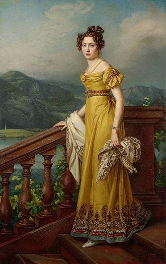 Caroline of Baden - Image: Stieler Amalie Auguste of Bavaria Galerie Neue Meister