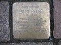 Stolperstein Ernst Reuse, 1, Schmerfeldstraße 6, Kirchditmold, Kassel.jpg