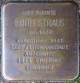 Stolperstein Köln, Edith Straus (Mauritiussteinweg 11).jpg