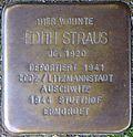 Stolperstein for Edith Straus (Mauritiussteinweg 11)