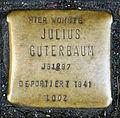 Stolperstein Köln, Julius Guterbaum, (Apostelnstraße 23).jpg