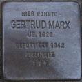 Stolperstein Karlsruhe Marx Gertrud.jpeg