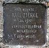 Stolperstein Kienhorststr 162 (Reind) Karl Zierke.jpg