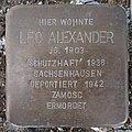Stolperstein Rüthen Hachtorstraße 7 Leo Alexander.jpg