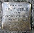 Stolperstein Raumerstr 21 (Prenz) Malcha Gutmann.jpg