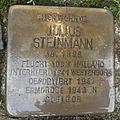 Stolperstein Steinfurt Markt 1 Julius Steinmann.jpg