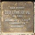 Stolperstein Stierstr 20 (Fried) Leo Löwenthal.jpg