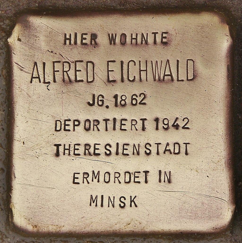 Stolperstein für Alfred Eichwald (Kappeln).jpg