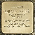 Stolperstein für Jenöne Szilard (Nyíregyháza).jpg