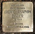 Stolperstein für Ludwig Seraphim Binder.JPG