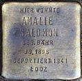 Stolpersteine Köln, Amalie Salomon (Dasselstraße 37).jpg