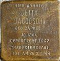 Stolpersteine Köln, Jetta Jacobsohn (St.-Apern-Str. 6).jpg
