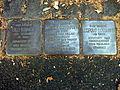 Stolpersteine Lilli Sommer, Walter Cossmann, Leopold Cossmann, Meckenheimer Allee 110, Bonn.JPG