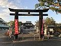Stone torii and Romon Gate of Mizuta Temman Shrine.jpg