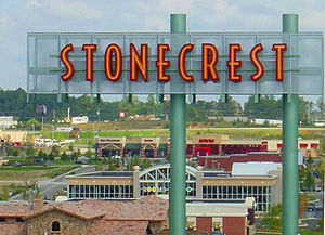 English: stonecrest sign