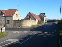 Stony Houghton - Green Lane and B6417.jpg
