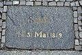 Stralsund, Fährstraße, Schill-Gedenkplatte (2012-03-11), by Klugschnacker in Wikipedia.jpg
