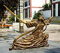 Street statue of Lady Congsun sword-dance master of the Tang Dynasty.jpg
