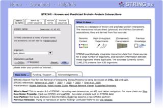 Biological database database of biological information