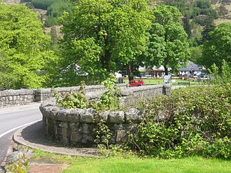 Strontian - Bridge in the centre of Strontian