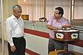 Subhabrata Chaudhuri Demonstrating NDL Facilities To Swapan Kumar Roy - NCSM - Kolkata 2016-08-22 5984.JPG