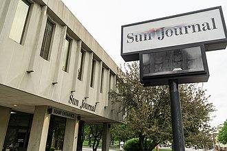 Sun Journal (Lewiston, Maine) - The Sun-Journal office at 104 Park Street.