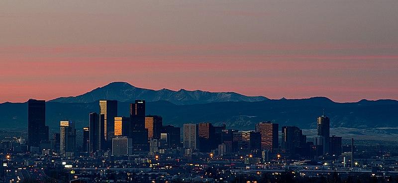 Sunrise Over Denver Skyline.jpg