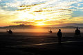 Sunset over Middle Wallop Airfield MOD 45156389.jpg