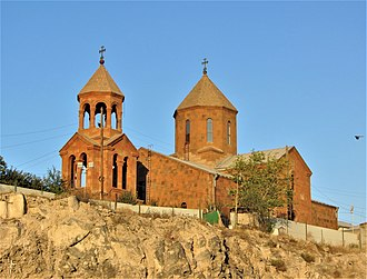 Saint John the Baptist Church, consecrated in 1710 Surb Hovanes Mkrtich Church, Kond.JPG
