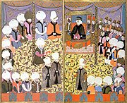 Scene from the Surname-ı Vehbi, kept in the palace