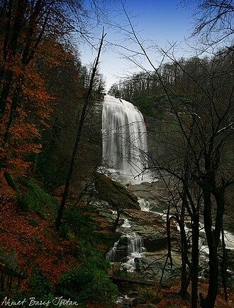 Mustafakemalpaşa River - File:Suuçtu Waterfall, Mustafakemalpaşa river.