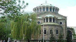 St Nedelya Church church building in Sofia, Bulgaria