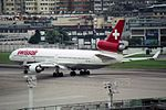 "Swissair McDonnell Douglas MD-11 HB-IWA ""Obwalden"" (23719721535).jpg"