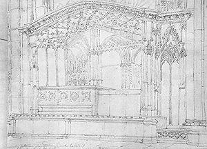 Katherine Swynford - Katherine Swynford's tomb in 1809