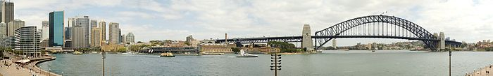 view from Sydney Opera House