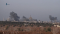 Syrian Air Force bombs Tah in Idlib Governorate.png