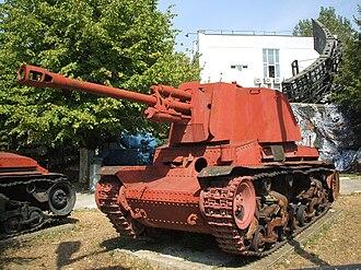 Panzer 35(t) - Romanian TACAM R-2 tank destroyer