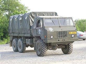 Tovarna avtomobilov Maribor - Image: TAM kamion HV Tigrovi