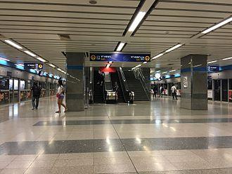 Thailand Cultural Centre MRT station - Blue Line platforms