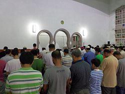 Taipei Grand Mosque - Tarawih.JPG
