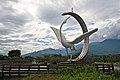 Taiwan 2009 WuHe County TienHe Tea Mascot Statue FRD 6259.jpg