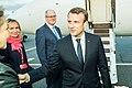 Tallinn Digital Summit. Airport arrivals HoSG Emmanuel Macron (37117761800).jpg