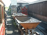 Talyllyn locomotive shed, Pendre - geograph.org.uk - 1415075.jpg