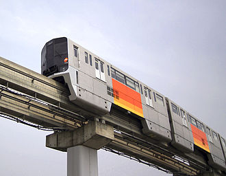 Monorails in Japan - Image: Tama Toshi Monorail 6061