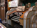 Tamar Organ Club's 'Dartford Warbler' Compton Theatre Organ at Dingles Fairground Heritage Centre, Lifton, Devon 2007-04-27 P4270102.jpg